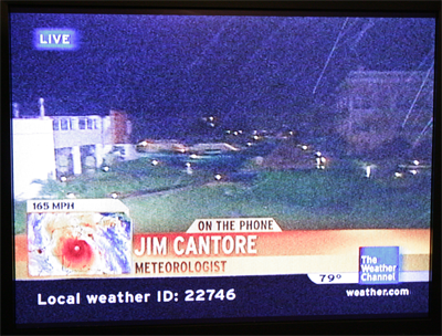 Jim Cantore On-Air