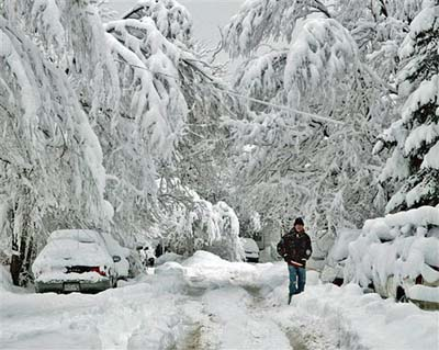 Boulder, Colorado Blizzard